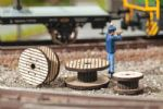 Noch 14202  HO/OO Scale Cable Rolls (3)